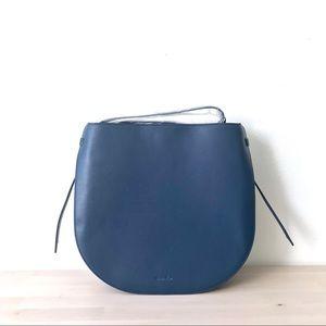 Steven Alan Helena Half Moon Leather Shoulder Bag